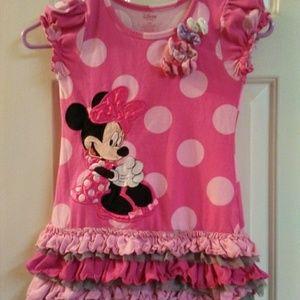 Disney Minnie Mouse Dress Size 5/6